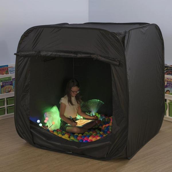 Tente sensorielle pop-up-noir
