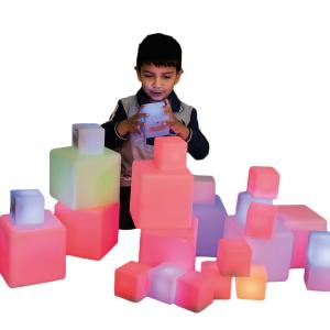 Blocs de construction lumineux