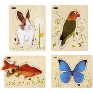 Lot de puzzles - Animaux