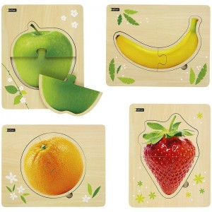 Lot de puzzles - fruit