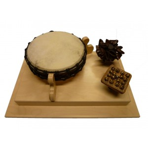 Plaque de jeu musicale - percussion