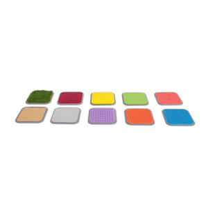 Dalles tactiles - lot de 10