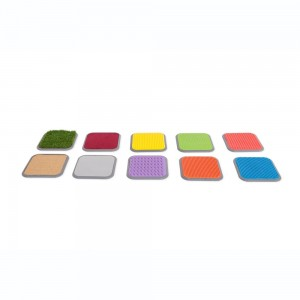 Dalles tactiles - lot de 8