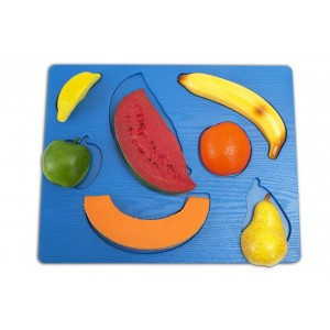 Puzzle tactile - Fruits